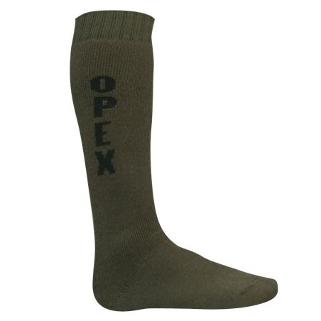 Chaussettes mi-bas Opex grand froid vert