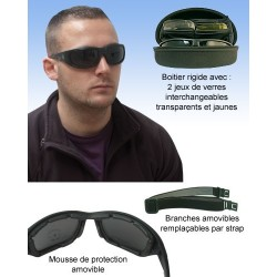 Lunettes solaires branches...