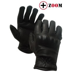 Gants noirs bac d'intervention