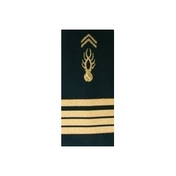 "Equipement Militaire Fourreau gendarmerie mobile souple "" Commandant "" - FGDMBCOM - SECURITE"