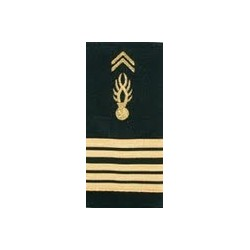 "Equipement Militaire Fourreau gendarmerie mobile souple "" Colonel "" - FGDMBCOL - SECURITE"
