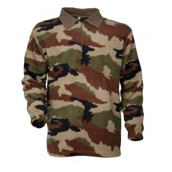 Chemise polaire militaire F1 camouflage CE - TR1513 - OUTDOOR