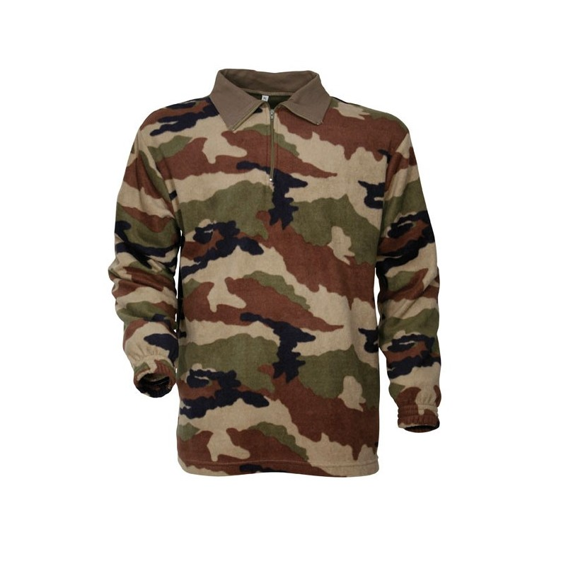 Equipement Militaire Chemise polaire militaire F1 camouflage CE - TR1513 - OUTDOOR