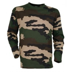 Tee-shirt militaire camouflage manches longues - TR1538 - OUTDOOR