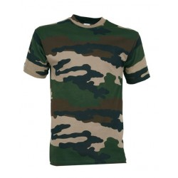 Tee-shirt militaire camouflage enfant - TR2907 - OUTDOOR