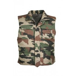 Gilet rangers camouflage CE