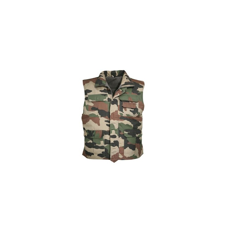 Gilet rangers camouflage CE - TR1205 - OUTDOOR