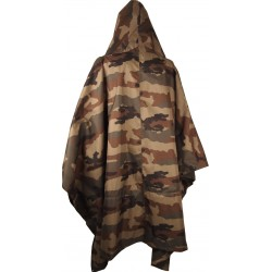 Equipement Militaire Poncho ripstop TOE camouflage militaire CE - TOE201525 - OUTDOOR