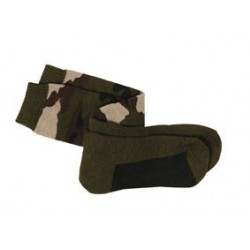 Chaussettes bouclettes camouflage - TR1705 - OUTDOOR