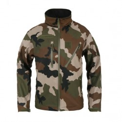 Equipement Militaire Veste militaire softshell elite camouflage ARES - PRO6309 - OUTDOOR
