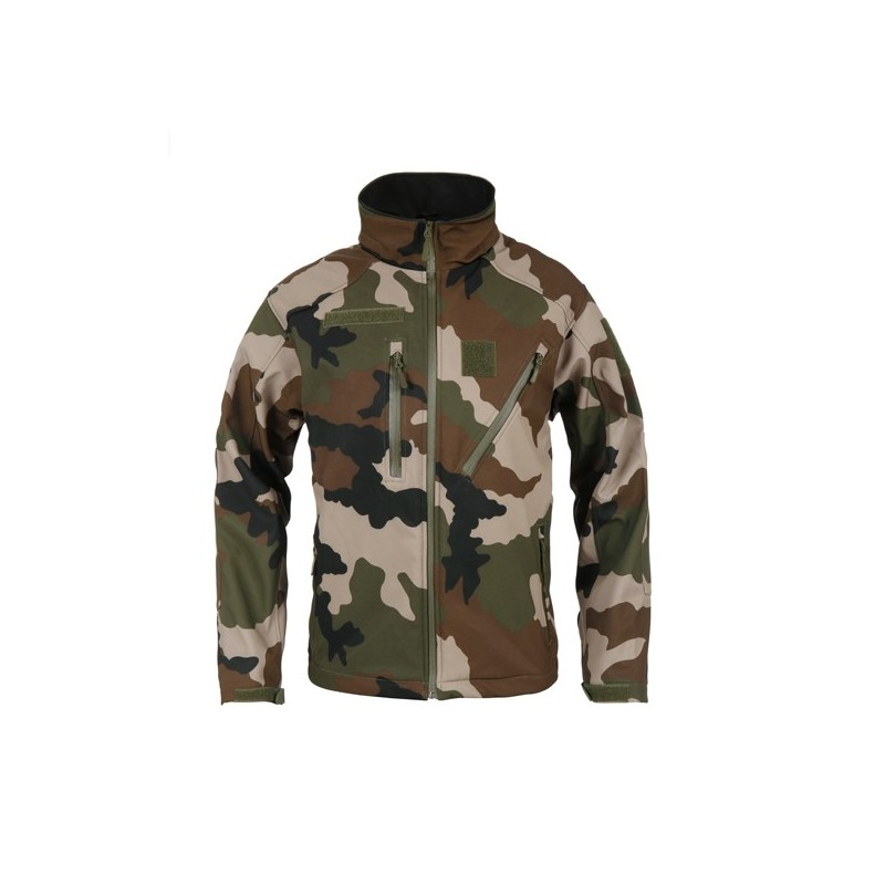 Xxs Softshell Taille Militaire Veste Elite Camouflage Ares O05qwY