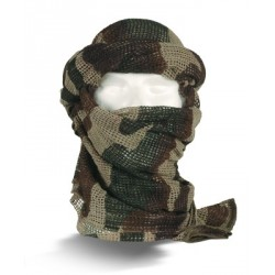 Equipement Militaire Echarpe filet camouflage - FC55 - Chéches, Shemaghs, Bandanas