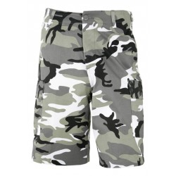 Equipement Militaire Bermuda camouflage militaire CE ou camouflage urban gris - TR1023 - OUTDOOR