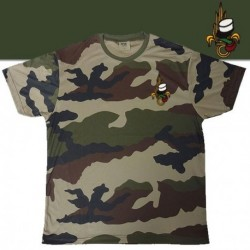 TEE SHIRT COOLDRY CAMOUFLAGE BRODE LEGION - TSMICDCBRODELE - Vêtements militaires