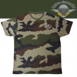 Equipement Militaire TEE SHIRT COOLDRY CAMOUFLAGE SERIGRAPHIE PARA - TSMICDCPA - Vêtements militaires