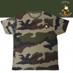 TEE SHIRT COOLDRY CAMOUFLAGE SERIGRAPHIE LEGION - TSMICDCLE - Vêtements militaires