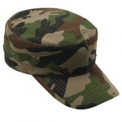 Casquette militaire type US ripstop camouflage - TR3443 - OUTDOOR