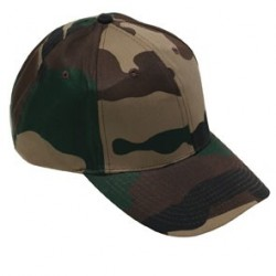 Casquette base-ball camouflage militaire CE - TR3413 - OUTDOOR