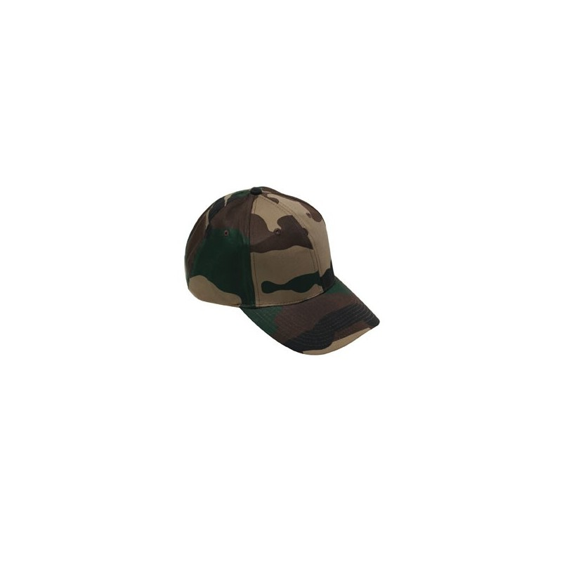Equipement Militaire Casquette base-ball camouflage militaire CE - TR3413 - OUTDOOR