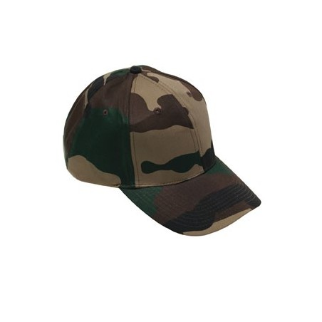 Casquette base-ball camouflage militaire CE