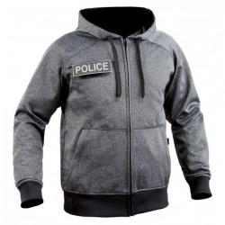 Equipement Militaire Sweat zippé Ghost gris - TOE52479 - SECURITE