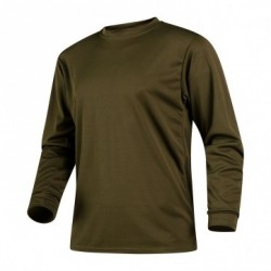 Equipement Militaire Tee-shirt dry clim kaki manches longues - PRO2220 - OUTDOOR
