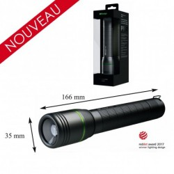 Equipement Militaire LAMPE TORCHE RECHARGEABLE SIRIUS 1000 Lumens - LAMPR57 - SECURITE