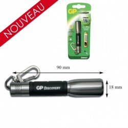 Equipement Militaire Lampe torche compact Led Cree Silver - LAMLCE202 - OUTDOOR