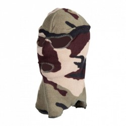 Cagoule 3 trous camouflage...