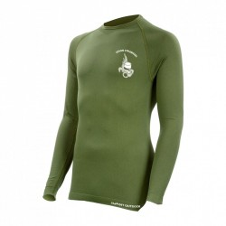 Equipement Militaire Tee shirt technical line manches longues legion - vert - PRO9181 - OUTDOOR