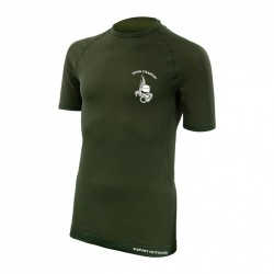 Tee-shirt active line manches courtes - vert - PRO9171 - OUTDOOR
