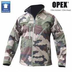 Equipement Militaire BLOUSON CAM CE SOFTSHELL 3 COUCHES DINTEX - BL3CAT - OUTDOOR