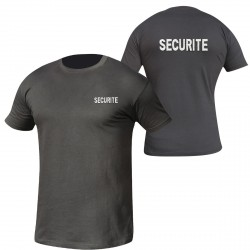 Equipement Militaire Tee-shirt intervention brodé SECURITE - TSBRODESECU - SECURITE