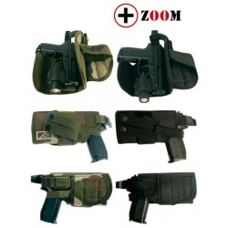 Holster attaches MOLLE Opex