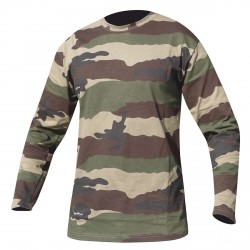 Equipement Militaire Tee-shirt militaire manches longues OPEX - TSMICML - Vêtements militaires