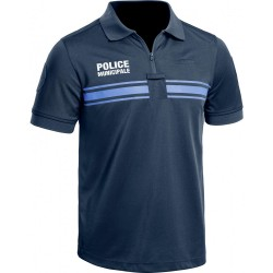 Equipement Militaire Polo Police Municipale P.M. ONE manches courtes - TOE202350-52 - T-Shirt / Polo