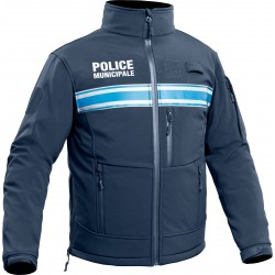 Equipement Militaire Softshell Police Municipale P.M. ONE - TOE202357 - SERVICE PUBLIC